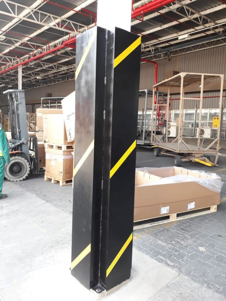 Column Protection barrier
